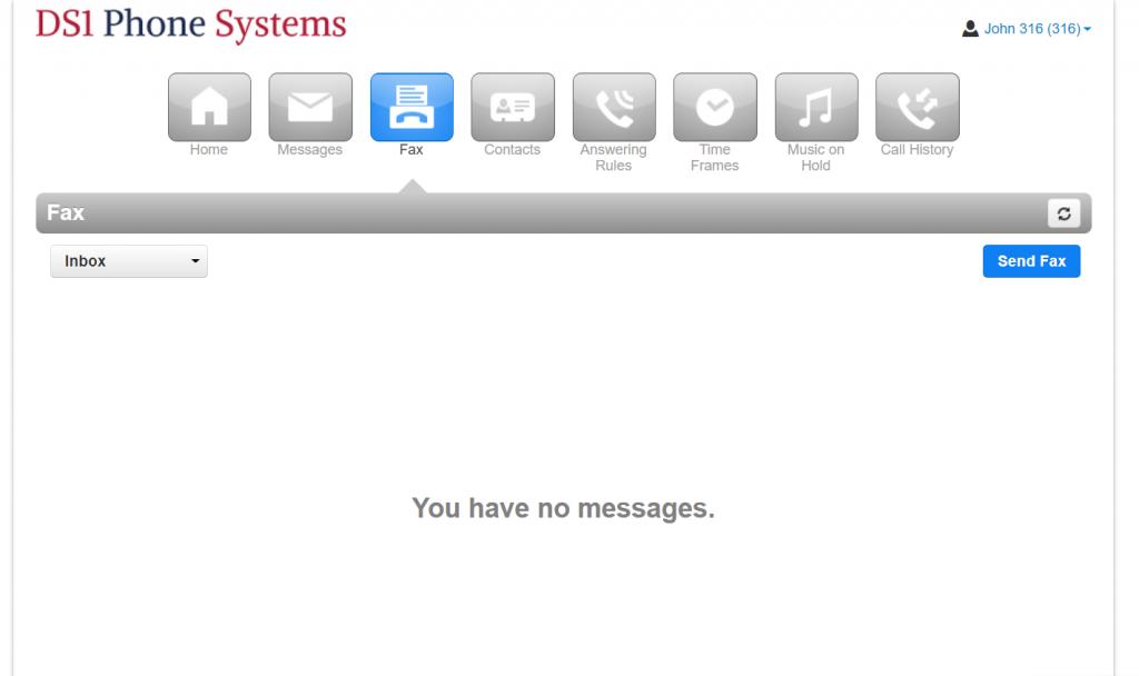 Internet Fax Portal